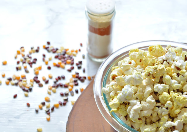 5 Ingredients or less: Homemade Popcorn