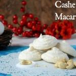 5 ingredients or less: Cashew Macaroons