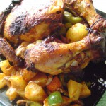 Poulet rôti Indienne – Oven-roasted Chicken Tandoori