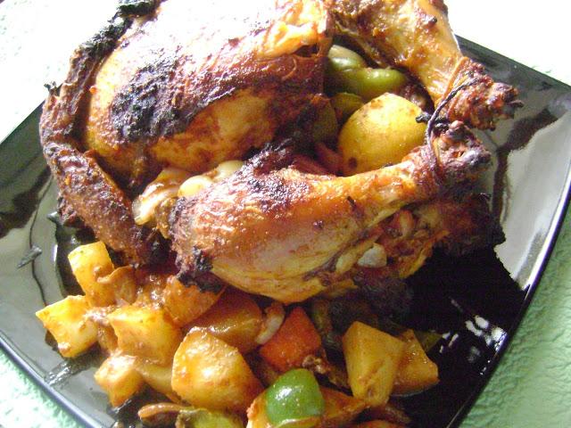 Poulet rôti Indienne – Oven-roasted Chicken Tandoori