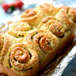 Easy Garlic pull apart rolls