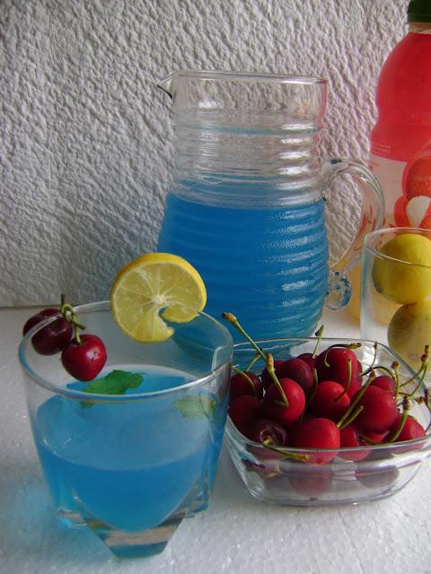 Lime 'n' Lychee Summer Mocktail