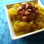 Yellow Pumpkin Halwa