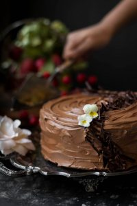 Don't be fooled into thinking this is an ordinary chocolate cake. This Chocolate Beet cake has Beetroot in it. Shh! No one needs to know!