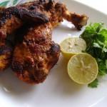 Tandoori chicken – Using a gas oven tandoor