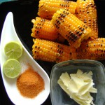 Madras Beach Food – Hot and Sour Roasted Corn on the cob