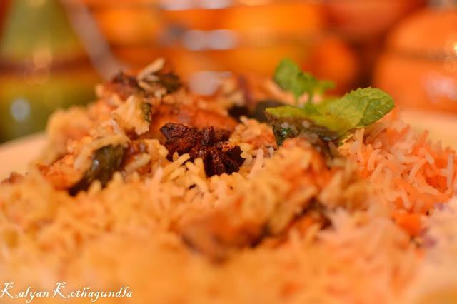 Cooking with Kalyan – Hyderabadi Chicken Dum Biriyani