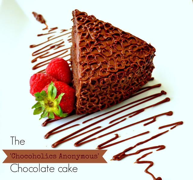 The 'Chocoholics Anonymous' Chocolate Cake