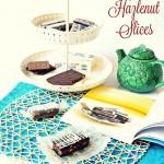 Chocolate Hazlenut Slices