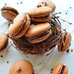 Chocolate_French_Macarons
