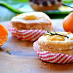 Orange glazed and filled Croissant Donuts | Cronuts