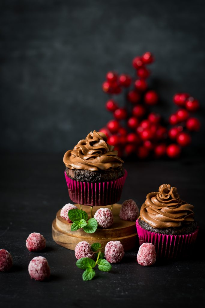 When a chocolate craving hits, or you want to make something special for a date, these Double Chocolate Cupcakes for Two are just perfection!
