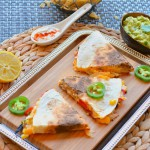 Tofu and Veggie Quesadillas