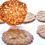 Almond Lace Cookies - Florentines