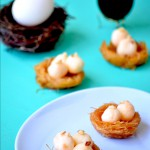 Easter Special – Rasagulla Eggs in a Bird's Nest