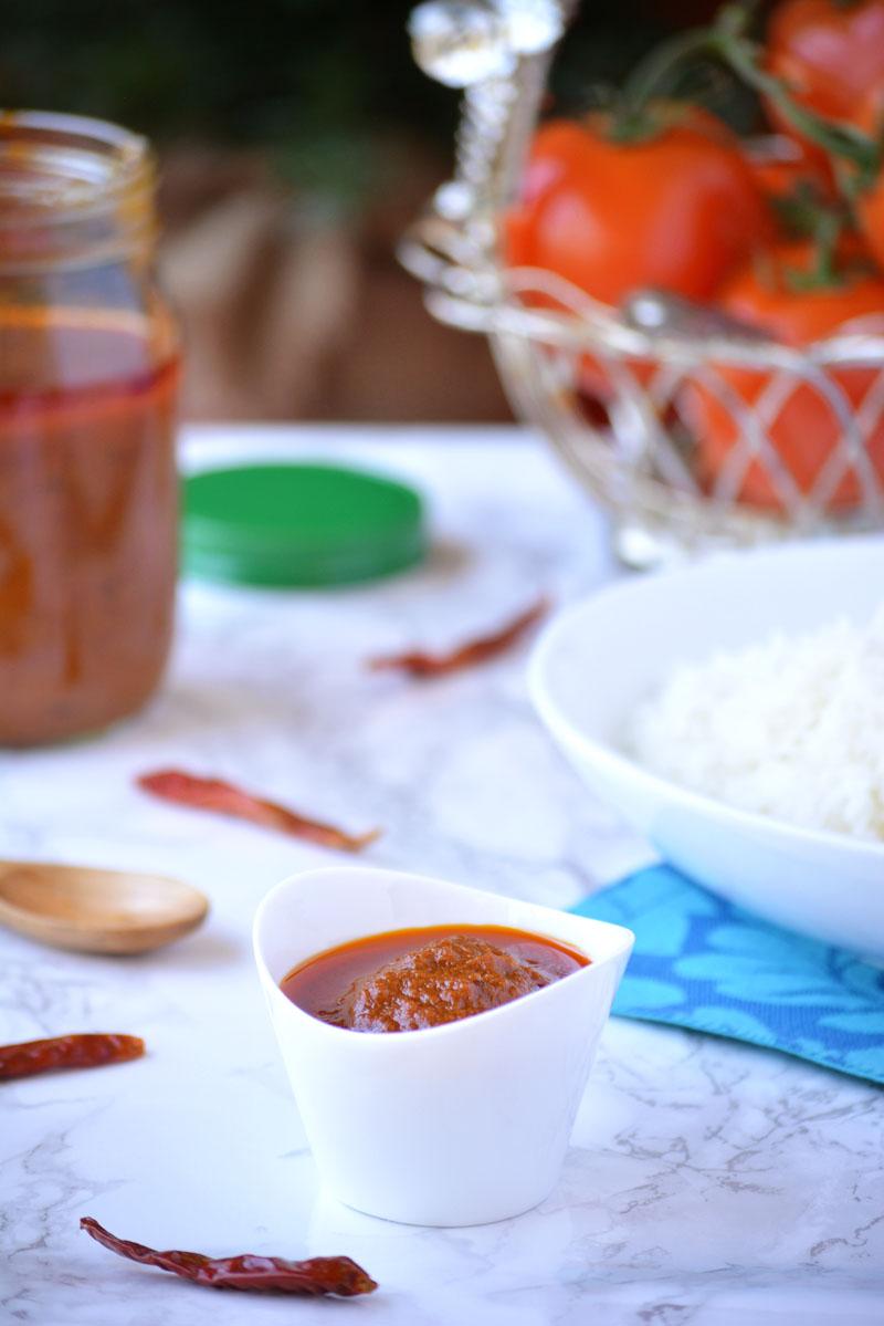 Spicy Tomato Thokku – Thakkali Thokku