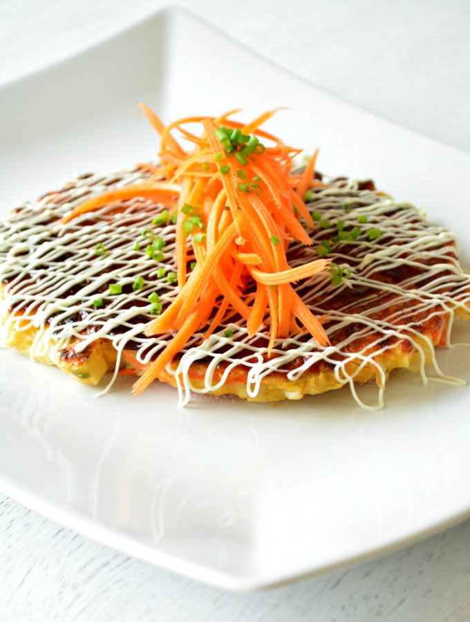 "Japanese Okonomiyaki – ""Cook as you like it"""