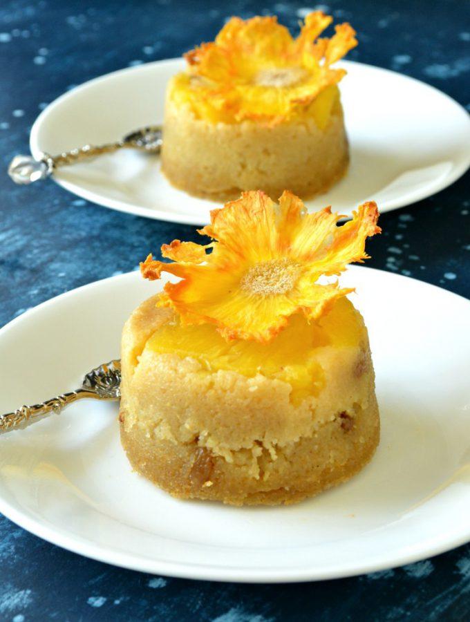 Burmese Semolina Cake - Sanwin Makhin