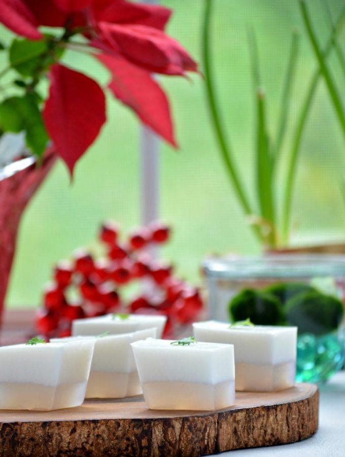 Burmese Coconut Jelly