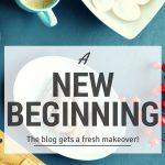A new beginning….