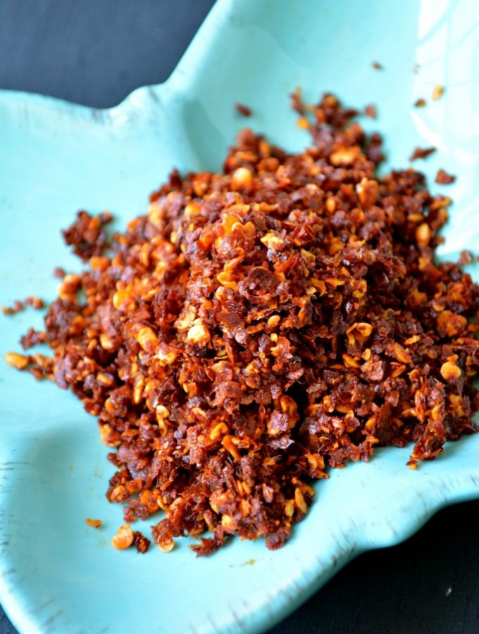Fried Red Chilli Flakes
