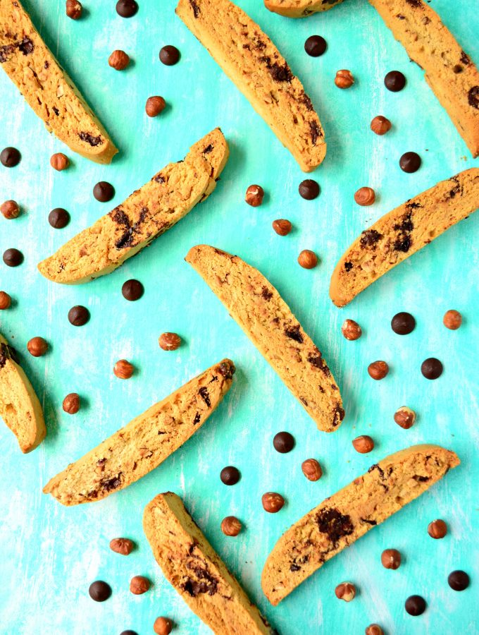 Chocolate Hazelnut Biscotti Main