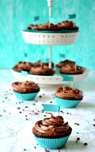 Magnolia Bakery Chocolate on Chocolate cupcakes