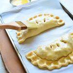 egg washing pies