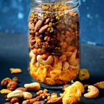 Baked Navratna Mixture – Indian Trail Mix