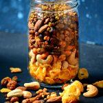Baked Navratna Mixture – Indian Trail Mix