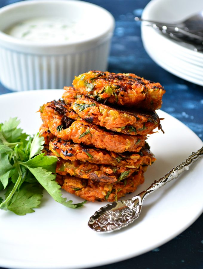 Spicy Sweet Potato Rosti