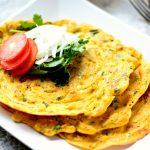 Glutenfree Chickpea pancakes