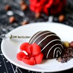 Mini Chocolate Hazelnut Cheesecake Bombes