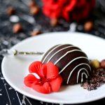 Mini Chocolate Hazelnut Cheesecake Bombes