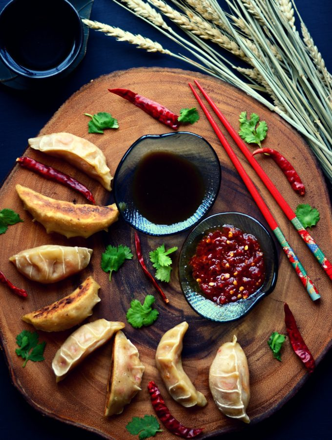 Vegan Potstickers | Pan-fried Dumplings | Gyoza