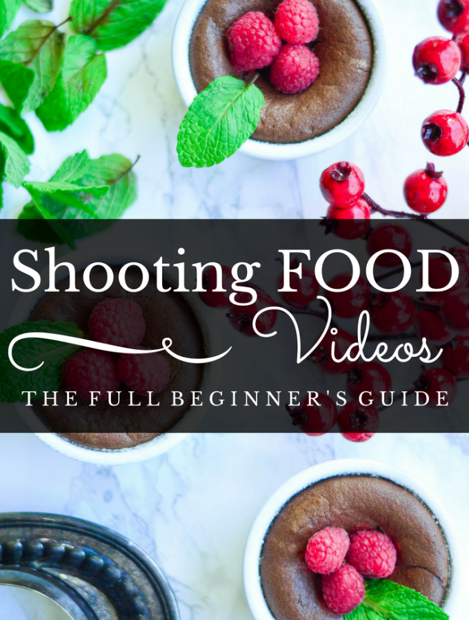 A complete beginners guide to Shooting Food Videos - from equipment to software to the actual shooting process.