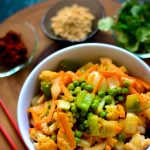 Simple VEGAN Stir-fried Vegetables