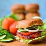 {Fall Special} VEGAN Sweet Potato Burger