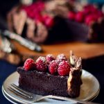 Chocolate torte with Lays
