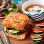 Vegan Eggplant Sandwich