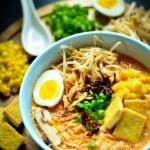 The Ultimate comfort food, make sure this Vegan Spicy Ramen Noodles is in your winter arsenal. From start to finish, 45 mins is all you need.