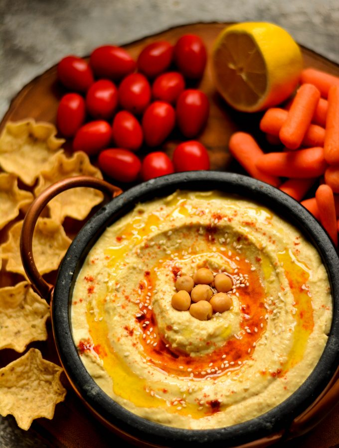 The best homemade Hummus you've ever had