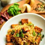 Paneer Curry Noodles