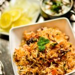 Vegetable Dum Biriyani for two