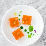 Inspired by the popular Indian dessert Carrot Halwa, this simple Carrot Halwa jelly is made with carrots, cardamom & Agar. (VEGAN + GF)