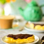 Low fat Chocolate Eclairs for two