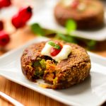 Veggie Cutlets with Flaxseed and Oats