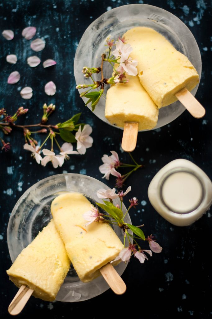 Reduced Milk, sweetened & infused with Black Truffle slices and Saffron - this Black Truffle and Saffron Kulfi is a dessert unlike any other!