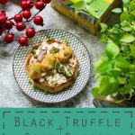 Transform your weekend with this Black Truffle,Goat Cheese and Red pepper Savory Waffles! Vegetarian. Quick. Simple. Yumm. #ad #LeggoMyEggo #HearTheNews