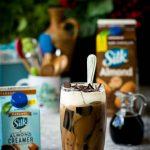 Vegan Choco Caramel Frappé w/ Coffee Jelly